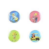 Il Bere Wine and Drink Charms Sports Collection, Birdie [並行輸入品]