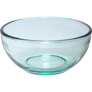 Libbey Glass Soup Cereal Bowl, 6 - Inch, Set of 6, Aqua Green by Libbey
