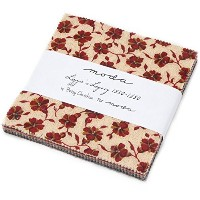 Lizzies Legacy Charm Pack By Betsy Chutchian; 42 - 5 Precut Fabric Quilt Squares by moda