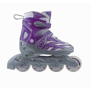 Chicago Blazer Junior Girls Adjustable Inline Skate (Size 5-8) [並行輸入品]