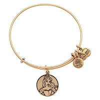 Disney Parks Alex and Ani Beauty and the Beast Belle Gold Bracelet by Alex and Ani [並行輸入品]