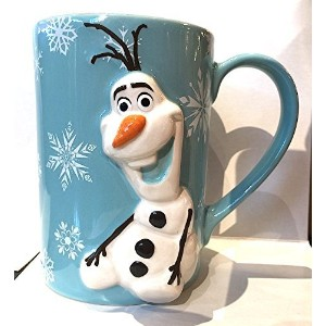 Disney Parks Olaf from Frozen 3D Mug Do You Want to Build a Snowman NEW [並行輸入品]