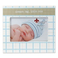 4x6 Dream Big Little One Blue & White by Lawrence Frames