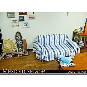 RUG&PIECE Mexican Serape made in mexcico ネイティブ メキシカン サラペ メキシコ製 190cm×140cm