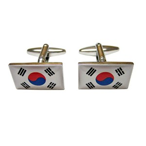 Korea Flag Cufflinks