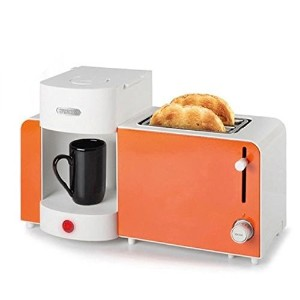 Princess Coffee Maker Espresso Machine Toaster All-in-One Set Orange 252183 220V / 60Hz プリンセスコーヒーメーカ...