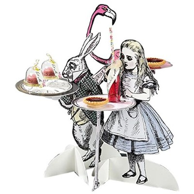 "Talking Tables Truly Alice Mad Hatter Party Alice in Wonderland 16 ""文字Treatは、誕生日またはTea Party3パック..."