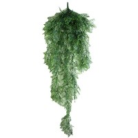 Zhhlaixing Artificial Rattan Garden Decoration Fake Hanging Vine Plants Leaves