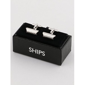 (シップス) SHIPS SHIPS:CUFFS LINE RECTANGLE 119530502 Silver1