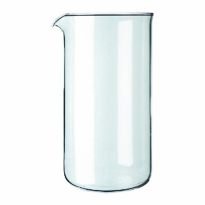 High Quality Spare Glass Carafe for French Press Coffee Maker, 0.35-Liter, 12-Ounce