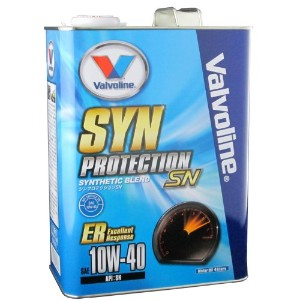 Valvoline エンジンオイル SYN-Protection SN 10W40 ER:Exellent Response 4L [HTRC3]