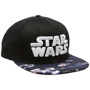 New Era Star Wars Graphic Black Small Medium Snapback Cap 9fifty Special Edition