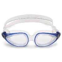 Aqua Sphere Eagle Adult Swim Goggles - Clear Lens - Clear Frame Great for Swimming