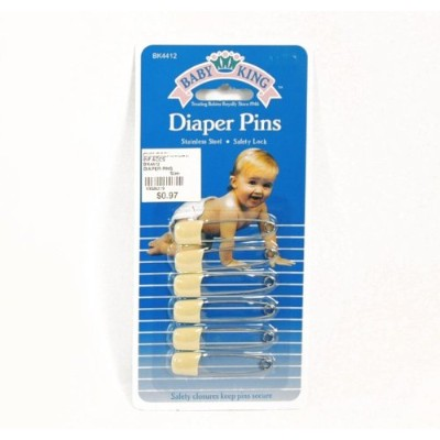 BABYKING DIAPER PINS by Baby King
