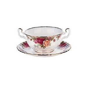 Royal Albert Old Country Roses 11-ounce Cream Soup Cup by Royal Albert