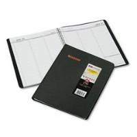 "Recycled Weekly Appointment Book, Black, 8 1/4"" x 10/7/8"", 2012-2013 (並行輸入品)"