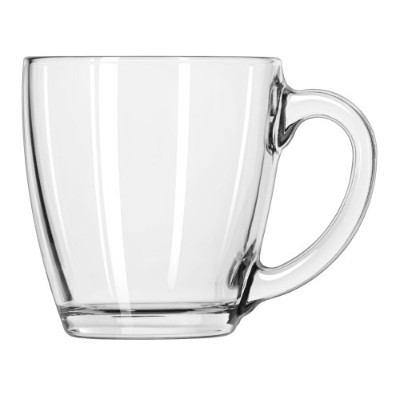 Libbey 15-1/2-Ounce Tapered Mug, Box of 6, Clear by Libbey