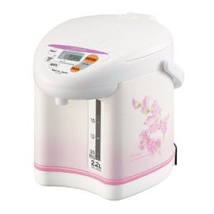 Zojirushi CD-JUC22FS Micom 2.2-Liter Water Boiler and Warmer, Sweet Pea by Zojirushi