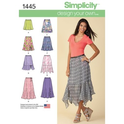 SIMPLICITY MISSES SKIRTS PANTS-18-20-22-24-26 (並行輸入品)