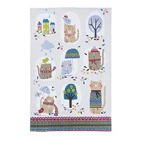 Cozy Cats Cotton Tea Towel by Ulster Weavers by Ulster Weavers