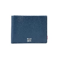 ユニセックス HERSCHEL SUPPLY CO. MILES PREMIUM LEATHER WALLET 財布  ダークブルー