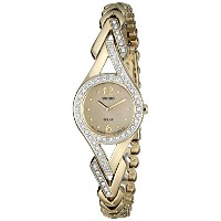 Seiko Solar 2-Hand with Swarovski® Crystals Women's watch #SUP176【並行輸入】