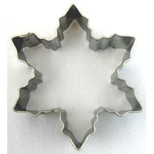 1 X Snowflake Cookie Cutter - 3 by Animewild