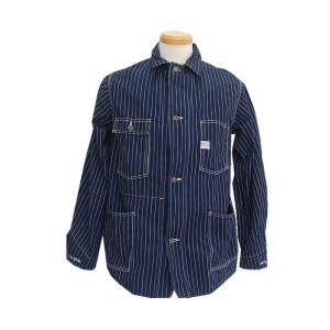 WAREHOUSEウエアハウス STRIPE COVERALL