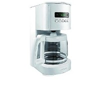 Kenmore 12 Cup Programmable Coffee Maker, White by Kemore