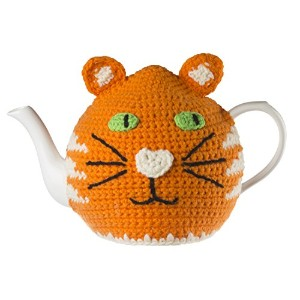 Ginger Cat Knitted Tea Cosy by Ulster Weavers