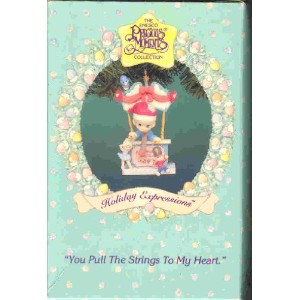 PRECIOUS MOMENTS YOU PULL THE STRINGS OF MY HEART ORNAMENT by Enesco