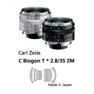 Haoge LH-ZV02 Square Metal Lens Hood for Carl Zeiss Biogon T* 2//35
