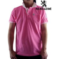 【SALE】ニッケル&ダイム S/S ポロシャツ ポロ ピケ M C ピンクNICKEL&DIME S/S Polo Shirt POLO PIQUET M C Pink【あす楽対応_近畿】...