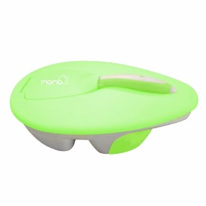 Momo Baby Travel Bowl and Spoon Set, Green by Momo Baby