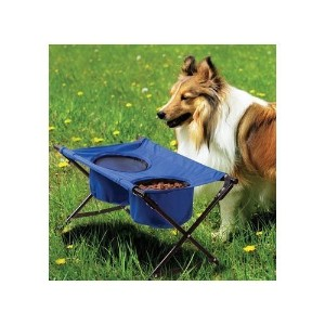 Pet Store Dog Travel Diner- Portable, foldable and waterproof dog feeder by ETNA PRODUCTS COMPANY