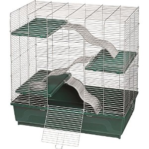 "Kaytee My First Home Multilevel Exotics for Chinchilla Rat Pet Cage 30"" X 18"""