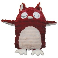 Patchwork Pet Feathered Friends Squeak Toys, 13-Inch, Hoot the Owl by Patchwork Pet