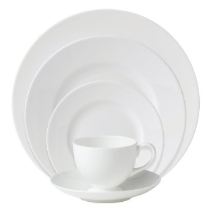 Wedgwood White 5-Piece Place Setting by Wedgwood