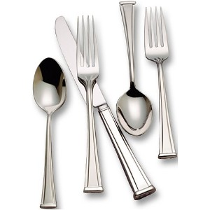 Waterford Kilbarry 18/10 Stainless Steel 5-Piece Place Setting, Service for 1 by Waterford
