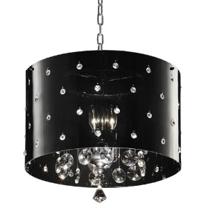 OK-5120h 18-Inch Star Crystal Ceiling Lamp by OK Lighting