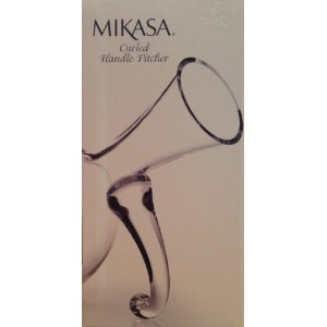 Mikasa Curled Handle Pitcher by Mikasa [並行輸入品]