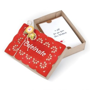 "Sizzix Bigz XL Die 6""X13.75""-Gift Card Box (並行輸入品)"