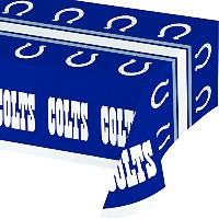 Creative Converting Officially Licensed NFL印刷プラスチックカップ、8-count、20-ounce、Indianapolis Colts 729534