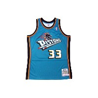 MITCHELL&NESS GRANT HILL 98-99 NBA AUTHENTIC JERSEY(DETROIT PISTONS: BLUE)ミッチェル&ネス/スローバックバスケットゲームジャー...