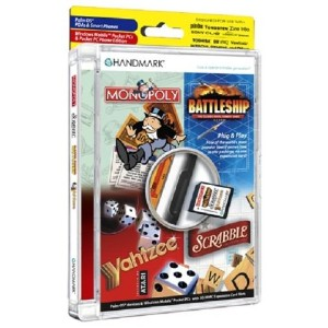 Handmark Monopoly/Scrabble/Battleship/Yahtzee Game Pack on SD/MMC Card (輸入版)
