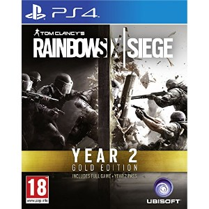 Tom Clancy's Rainbow Six Siege - Year 2 Gold Edition (PS4) (輸入版)