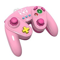 Wired Fight Pad for Wii U - Princess Peach by PDP [並行輸入品]
