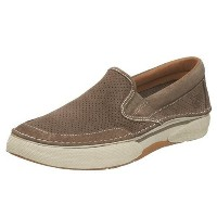 Sperry Largo Slip On Mens, Taupe Suede, 42.5 EUR