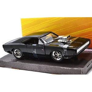 """JadaTOYS 1:24scale """"FAST & FURIOUS 7"""" """"Dom's '70 Dodge Charger R/T"""" ジェイダトイズ 1:24スケール 「ワイルドスピード 7」 ..."""