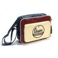 Vespa Servizio Horizontal Shoulder Bag - Chestnut